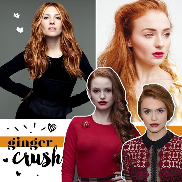 ginger, απόχρωση κραγιόν