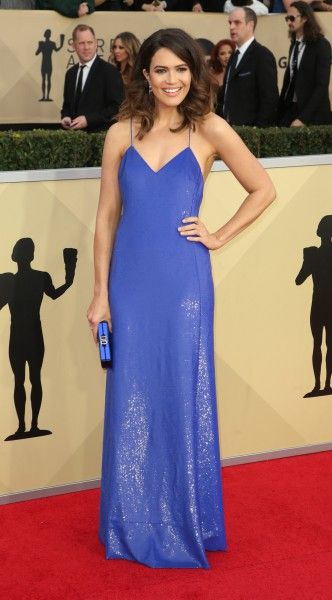 mandy moore, look of the day, mosaic