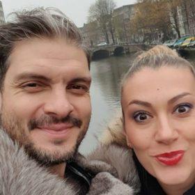 Άγγελος Χαριστέας: Διακοπές στη Eurodisney με την γυναίκα και την κορούλα του