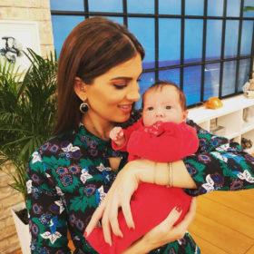 Η Σταματίνα Τσιμτσιλή περνάει τις πιο όμορφες στιγμές της ζωής της