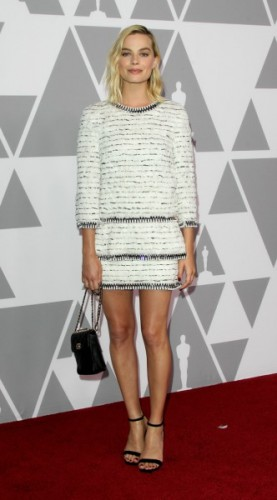 margot robbie, mosaic, look of the day