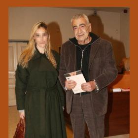 Γιώργος Βογιατζής: Σπάνια δημόσια έξοδος με την κατά πολλά χρόνια νεότερη σύζυγό του