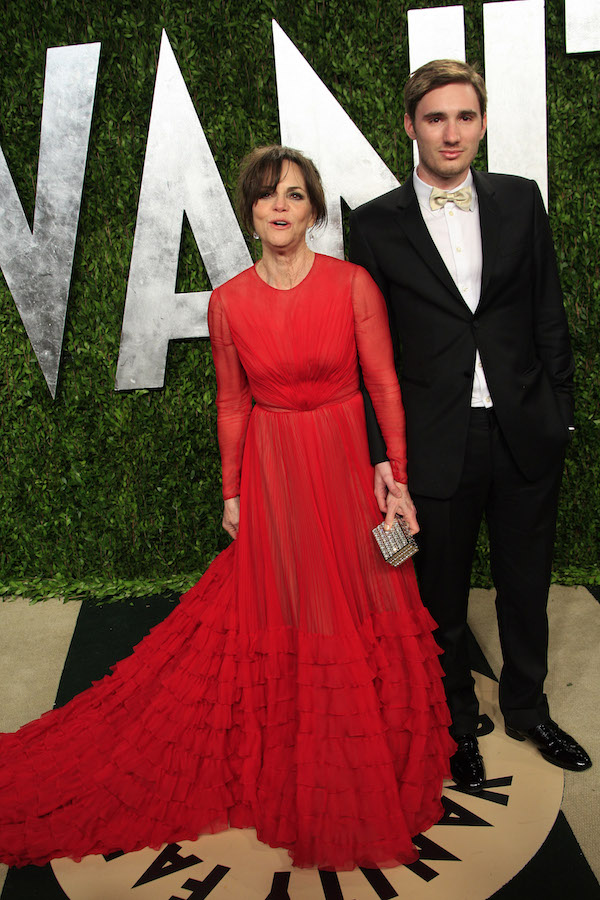 WEST HOLLYWOOD, CA - FEB 24: Sally Field, Sam Greisman at the Vanity Fair Oscar Party at Sunset Tower on February 24, 2013 in West Hollywood, California