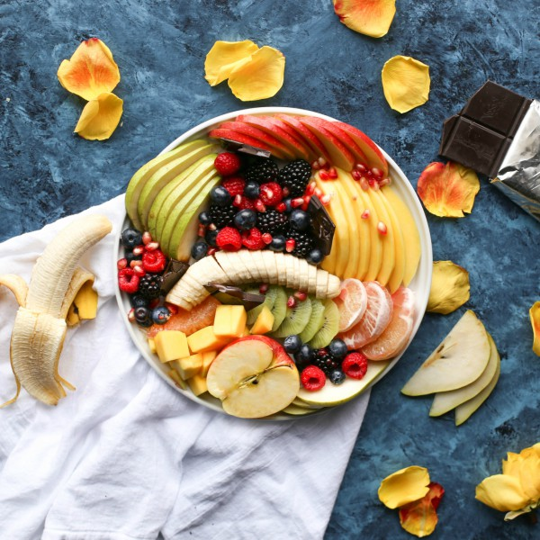 snack, fruits