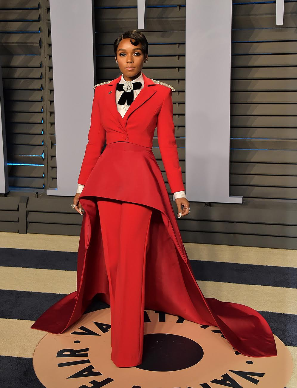 2018 Vanity Fair Oscar Party at the Wallis Annenberg Center for the Performing ArtsPictured: Janelle MonaeRef: SPL1667463  040318  Picture by: PG / Splash NewsSplash News and PicturesLos Angeles:310-821-2666New York:212-619-2666London:870-934-2666photodesk@splashnews.com
