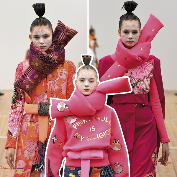 Manish Arora, beauty looks
