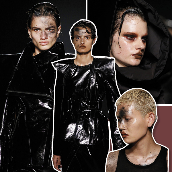 Gareth Pugh, beauty looks