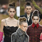buns, chanel, aw18