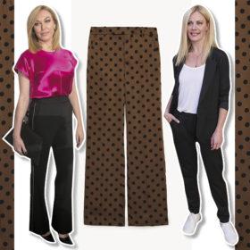 Το Zara παντελόνι που φόρεσαν Τατιάνα και Ζέτα κοστίζει ελάχιστα