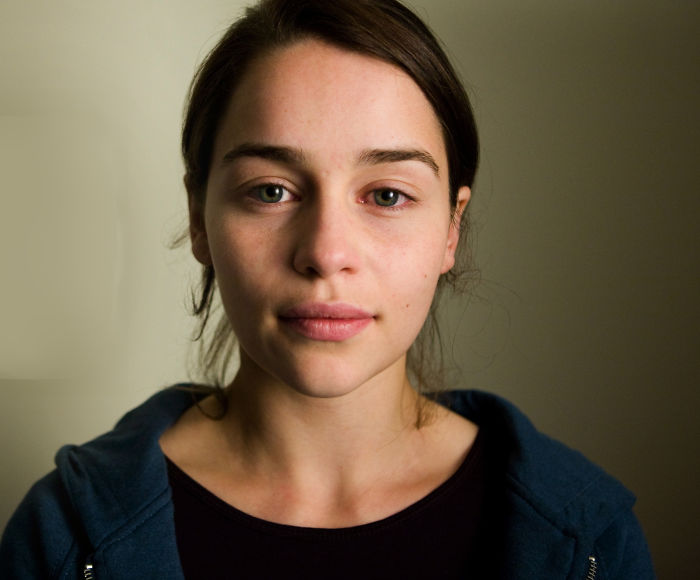 χωρίς μακιγιάζ, emilia clarke, no makeup