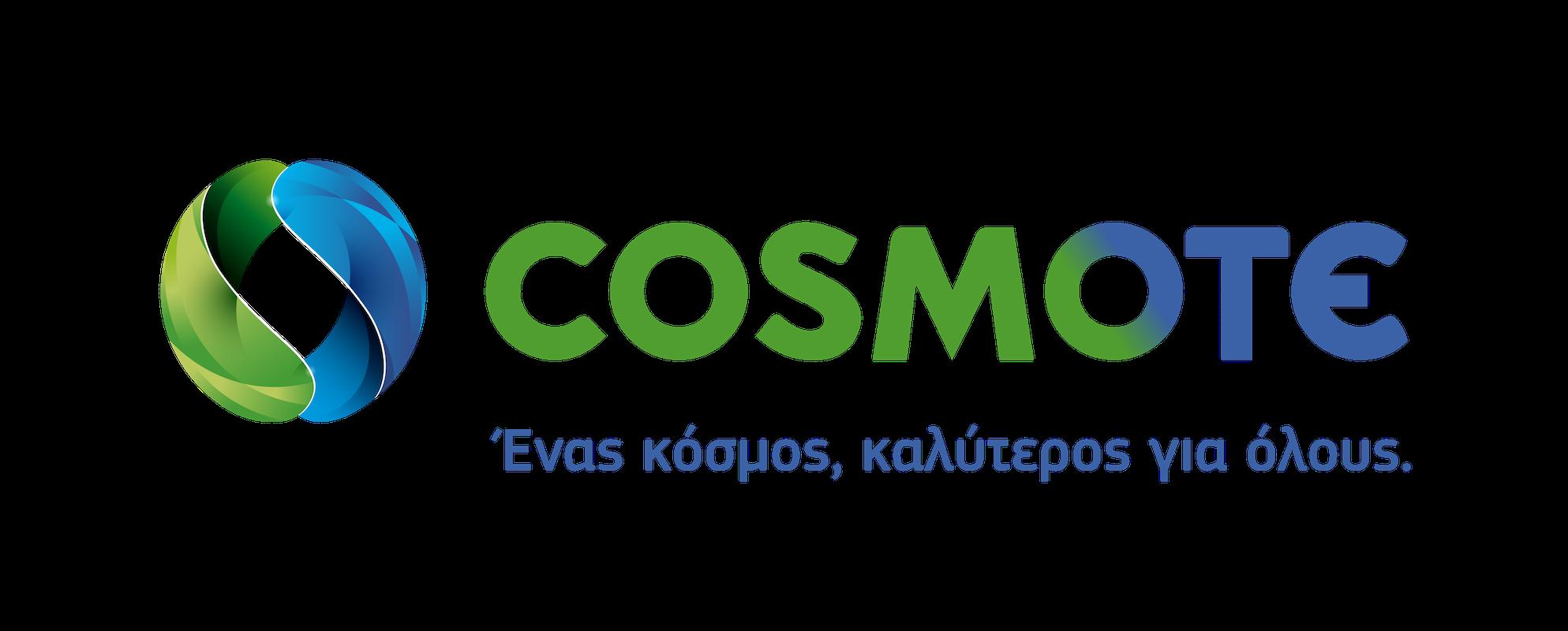 COSMOTE logo kalyteros kosmos