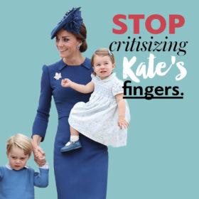Για ποιο λόγο έχουν πάθει όλοι εμμονή με τα δάχτυλα της Kate Middleton;