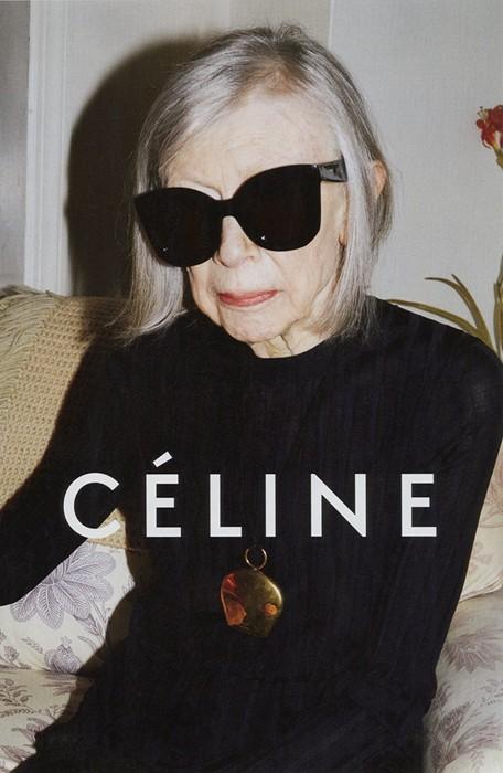celine, ηλικιωμένα μοντέλα