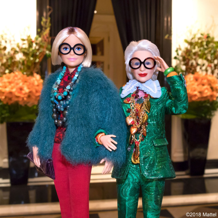 Barbie-Iris Apfel