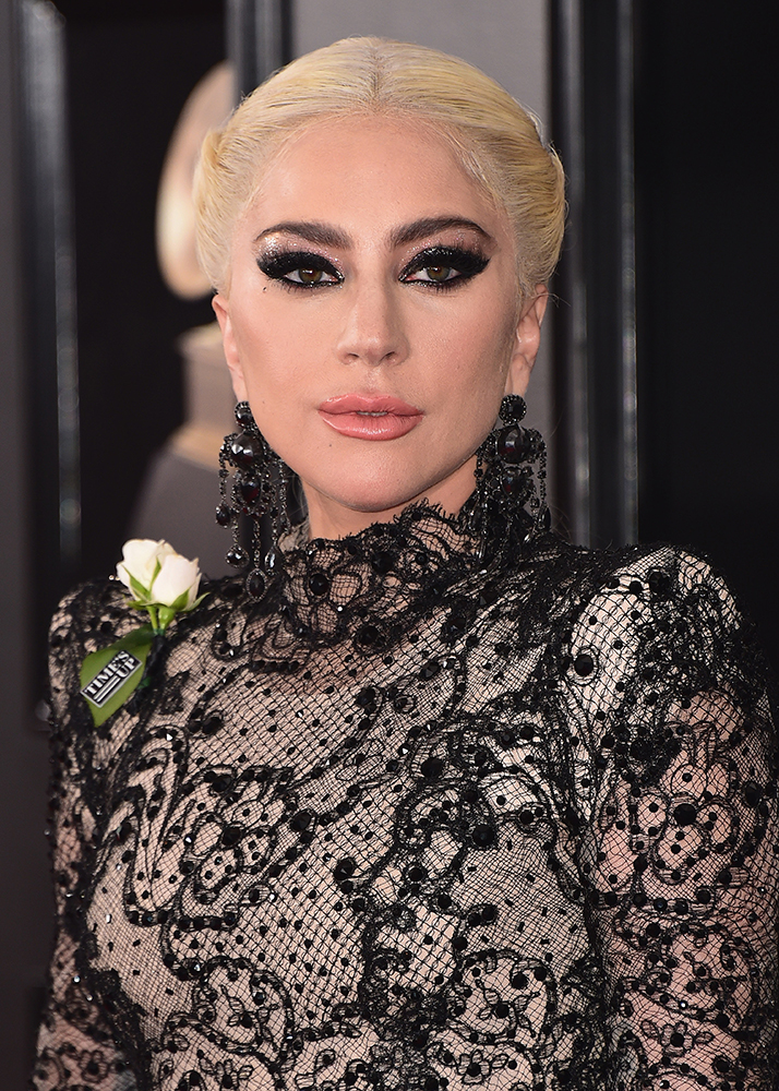 Arrivals at the 60th Annual Grammy Awards in New York on January 28,σεξουαλική παρενόχληση, 2018. Pictured: Lady Gaga Ref: SPL1652165  280118   Picture by: PG / Splash News Splash News and Pictures Los Angeles:310-821-2666 New York:212-619-2666 London:870-934-2666 photodesk@splashnews.com