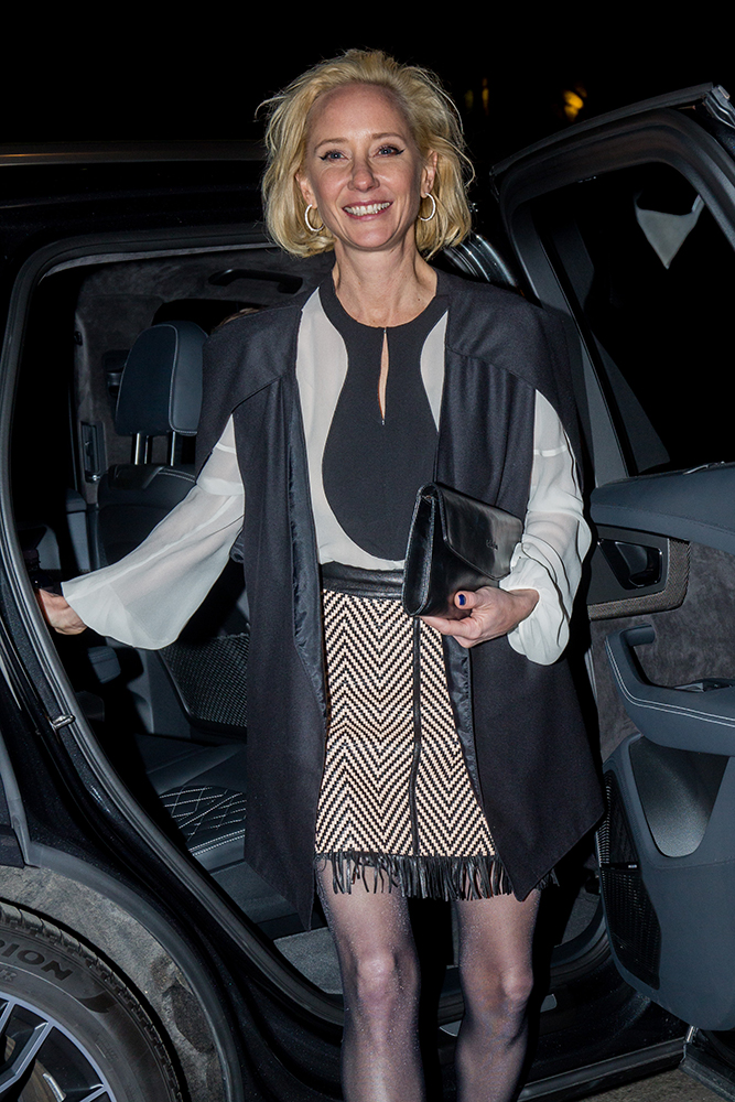 Anne Heche seen at the Medienboard Party at the Ritz Carlton Hotel in Berlin, Germany. Pictured: Anne Heche Ref: SPL1660808  170218   Picture by: Defrance / Splash News Splash News and Pictures Los Angeles:310-821-2666 New York:212-619-2666 London:870-934-2666 photodesk@splashnews.com , σεξουαλική παρενόχληση