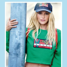 Η Britney Spears είναι αγνώριστη από το πολύ photoshop στη νέα καμπάνια του Kenzo