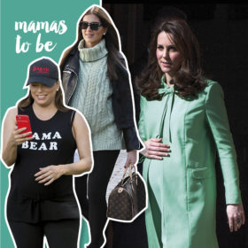 Οι πιο διάσημες έγκυες celebrities μας δείχνουν τις κοιλίτσες τους