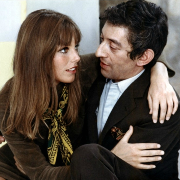 jane birkin couple serge