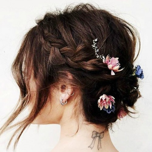 braid flower