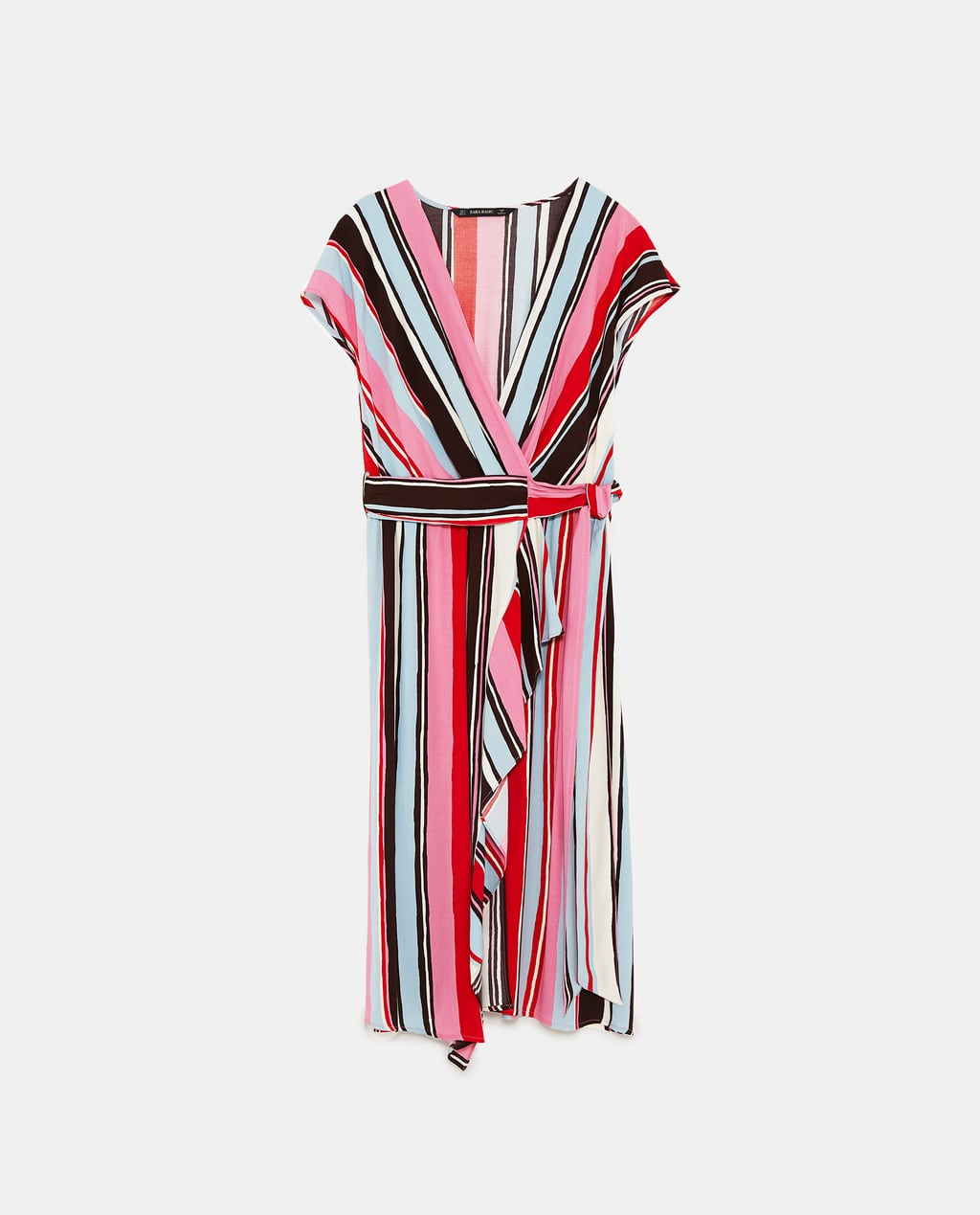 wrap dress zara rige