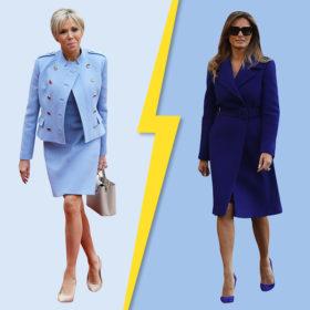 Brigitte ή Melania; Ποια από τις δύο Πρώτες Κυρίες ήταν πιο κομψή στις πρόσφατες κοινές τους εμφανίσεις;