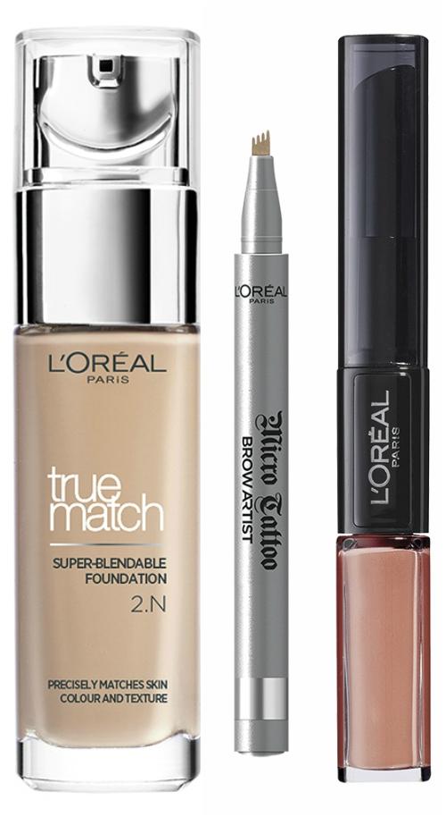 loreal paris must haves, no makeup makeup look
