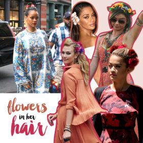 Flower headbands: Να πώς θα φορέσετε τα λουλούδια και το καλοκαίρι