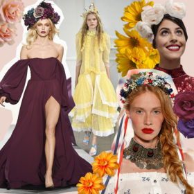 Flower Power: 10 celebrities σας δείχνουν πώς να φορέσετε σήμερα λουλούδια στα μαλλιά σας