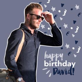 Χαρούμενα γενέθλια David Beckam: Η έκπληξη που του ετοίμασε η οικογένεια του