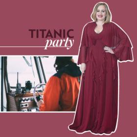 Η Adele έκλεισε τα 30 και το γιόρτασε με ένα θεματικό πάρτι «Τιτανικός»