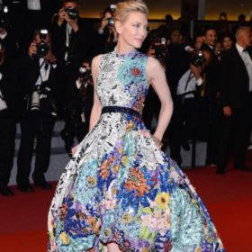 H Cate Blanchett στο Φεστιβάλ των Καννών με φόρεμα Ελληνίδας σχεδιάστριας