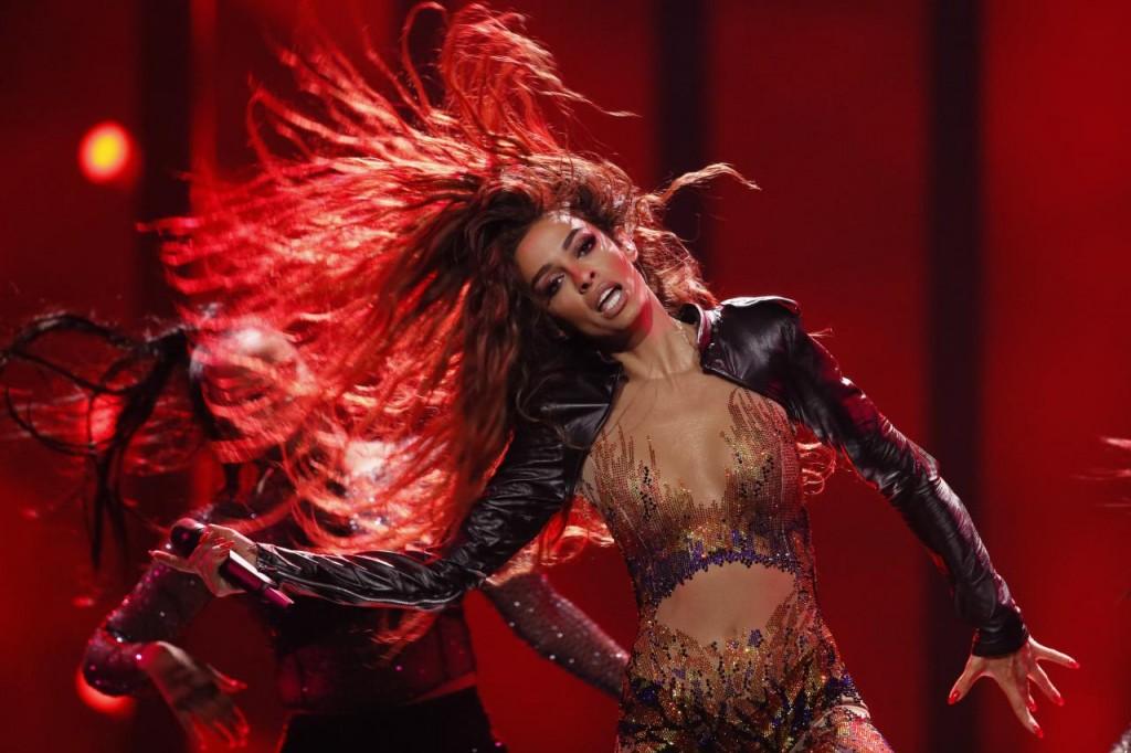 eleni foureira, fuego, eurovision 2018