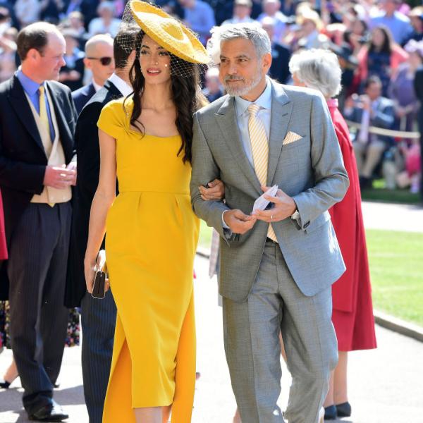Η Amal Clooney με Stella McCartney