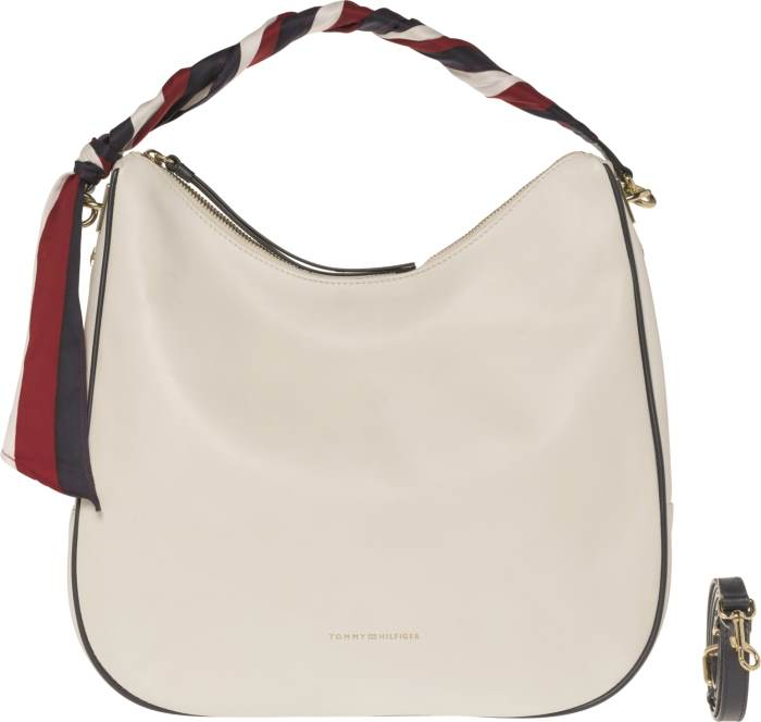 AW0AW04983104 Iconic Foulard Leather Hobo