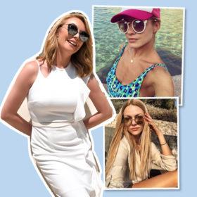 Τα πιο εντυπωσιακά γυαλιά ηλίου που επέλεξαν οι celebrities για το φετινό καλοκαίρι
