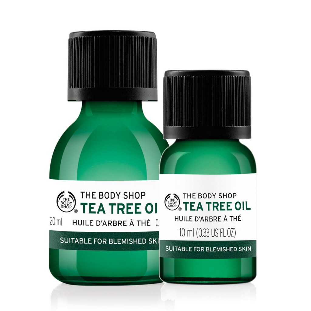 the body shop, tea tree oil, λάδι