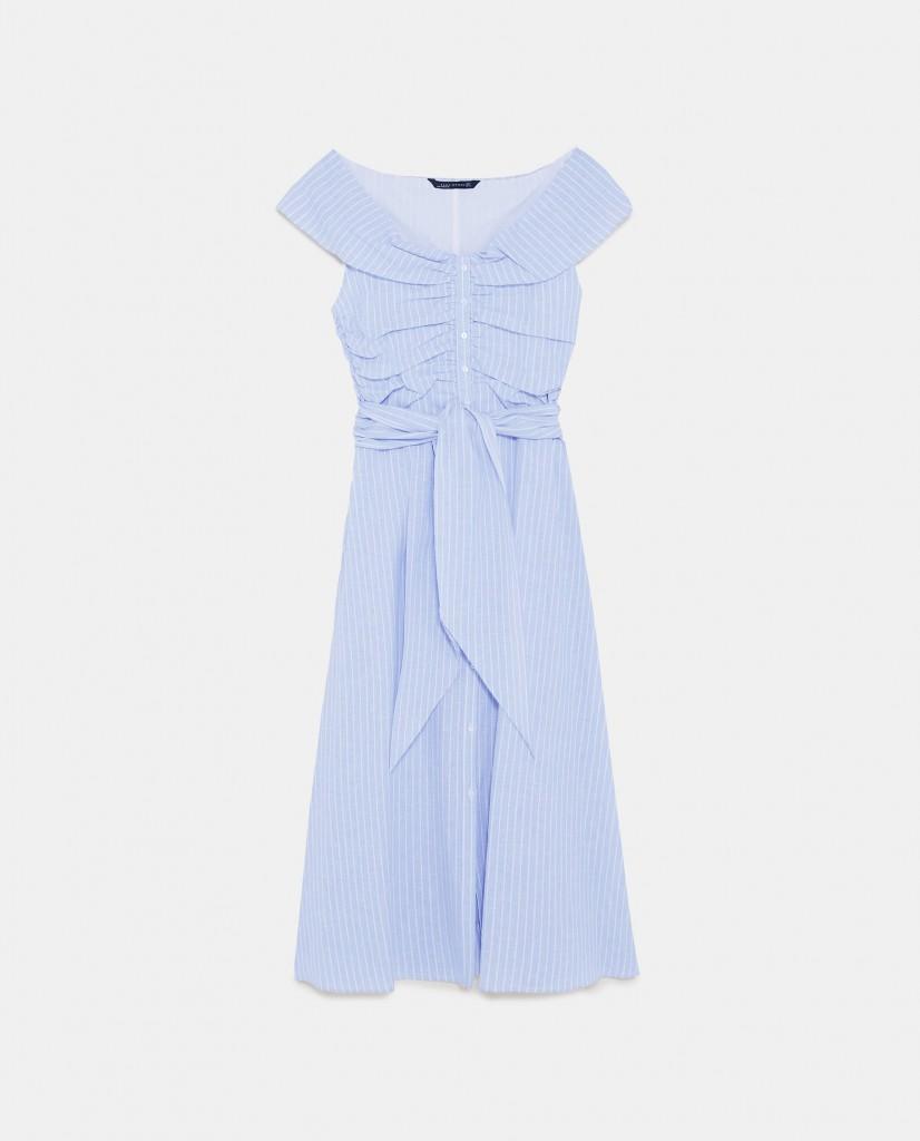 zara striped dress, καλοκαιρινό φόρεμα