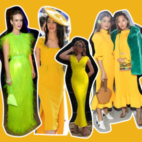 Η Τατιάνα Στεφανίδου φόρεσε το χρώμα της σεζόν