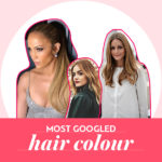most googled hair colour