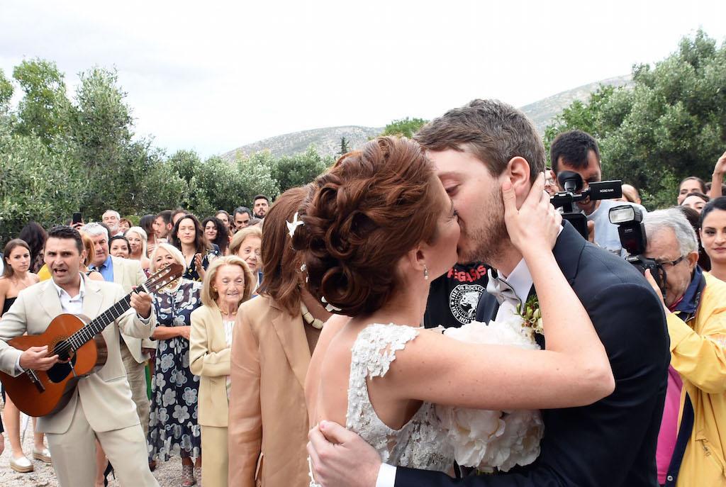 γάμο του γιου της Έλλης Στάη