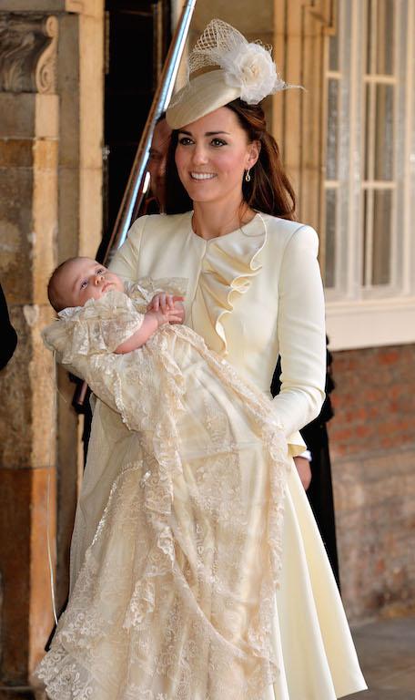 βαφτίζεται το τρίτο μωρό του Πρίγκιπα William και της Kate Middleton