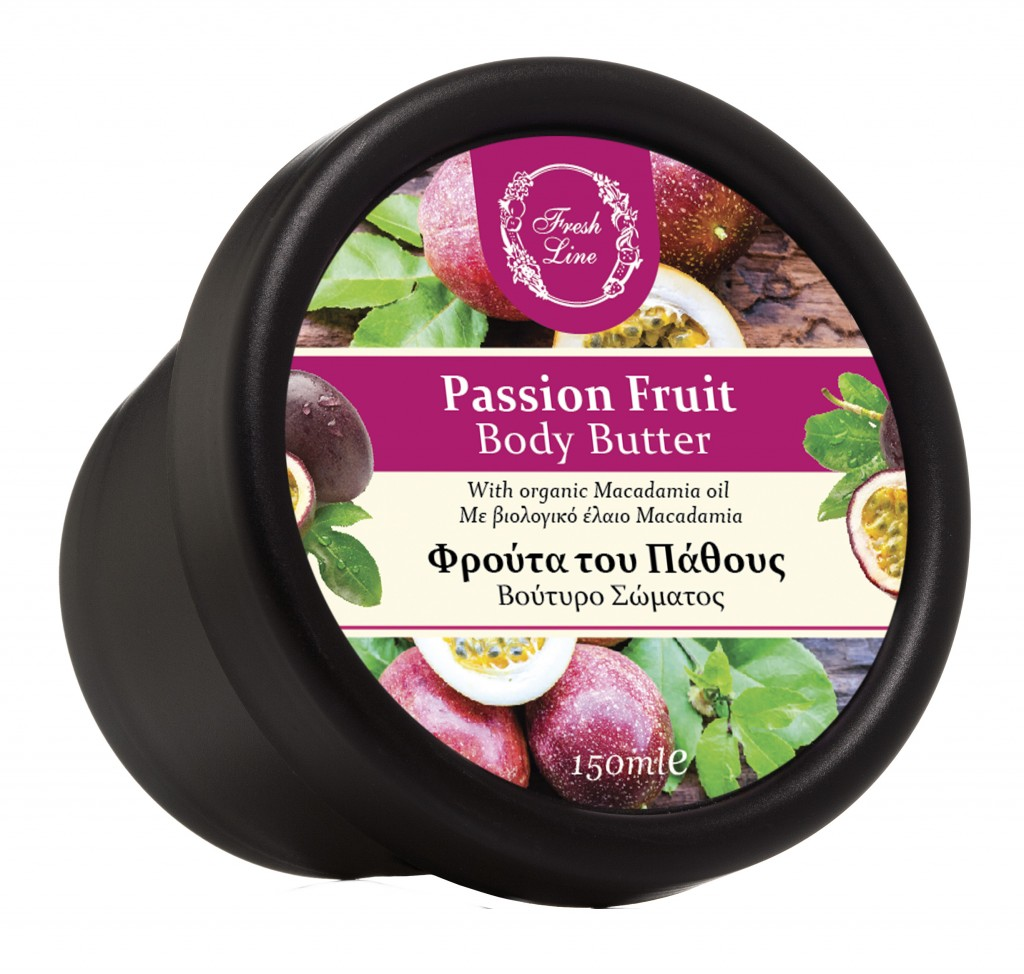 911701 B.BUTTER PASSION FRUIT 150ml'18