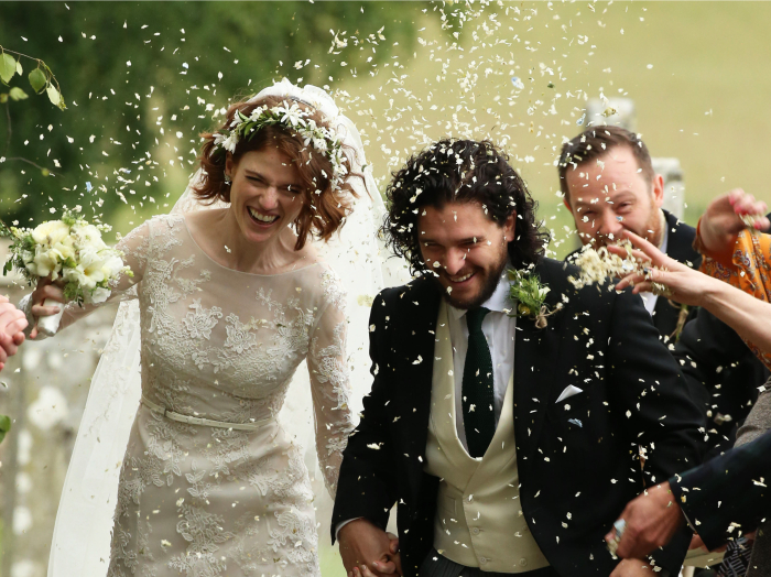 Splash News / Image Ideal, Ο Kit Harington παντρεύτηκε! Δείτε φωτογραφίες από τον γάμο του με τη Rose Leslie