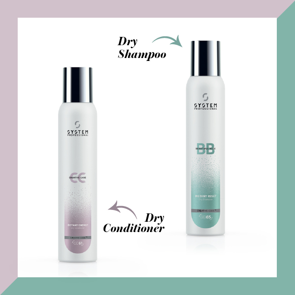 system professional, dry conditioner, dry shampoo