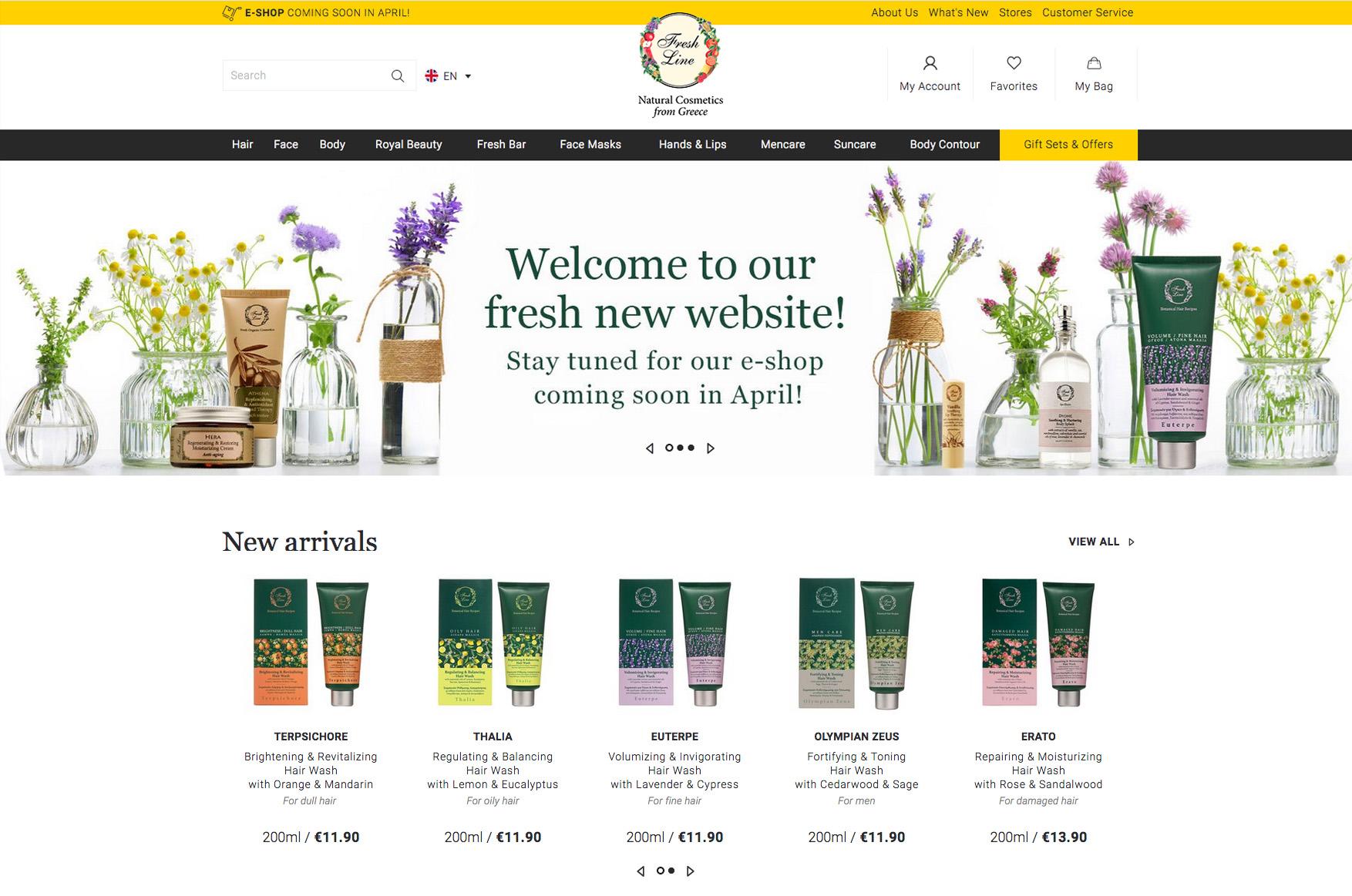 cfffe75e78 Τα αγαπημένα σας ελληνικά beauty προϊόντα έχουν πλέον e-shop και ...