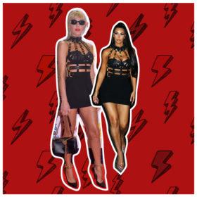 Τάμτα Vs Kim Kardashian: Ποια φόρεσε καλύτερα το Versace φόρεμα;