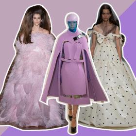 Δείτε τις αγαπημένες μας δημιουργίες από την Εβδομάδα Μόδας Υψηλής Ραπτικής