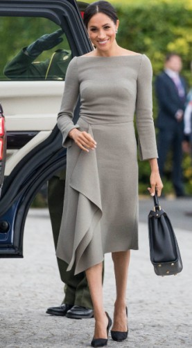 meghan markle look of the day