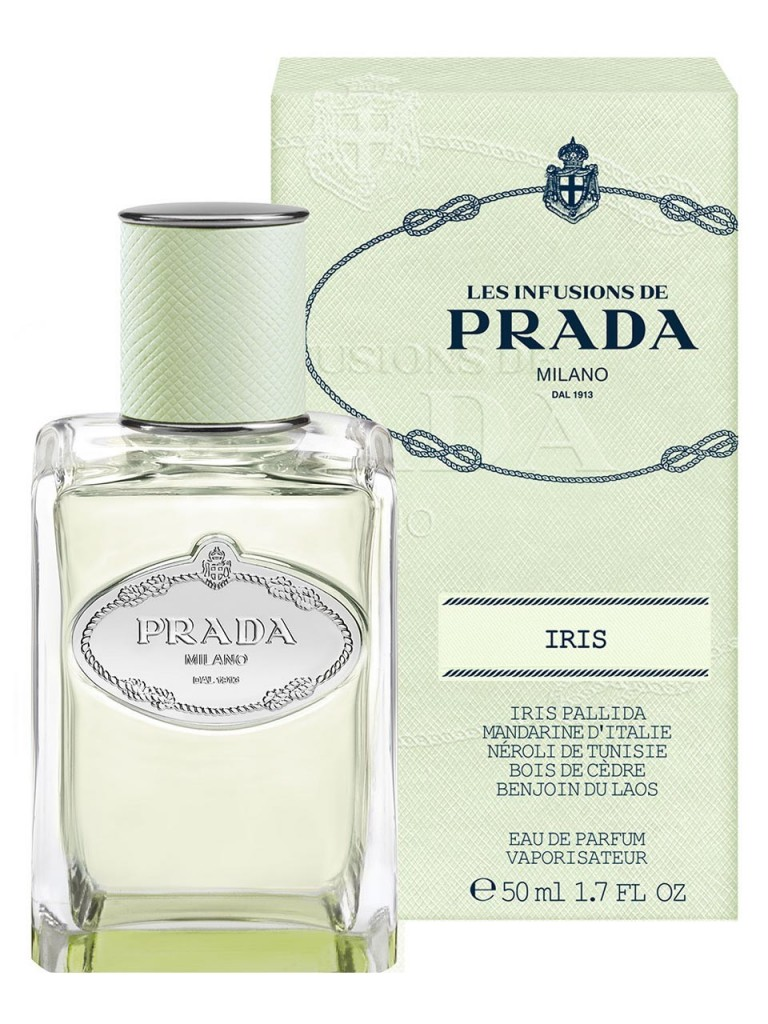 iris prada, Το αγαπημένο άρωμα της Μαρίας Ηλιάκη